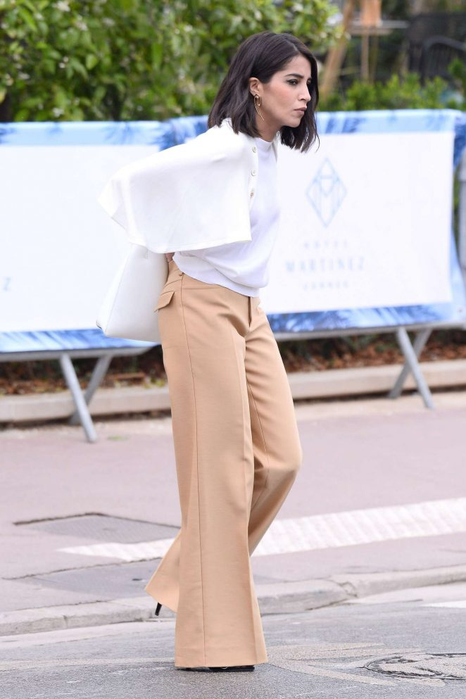 Leila Bekhti out in Cannes