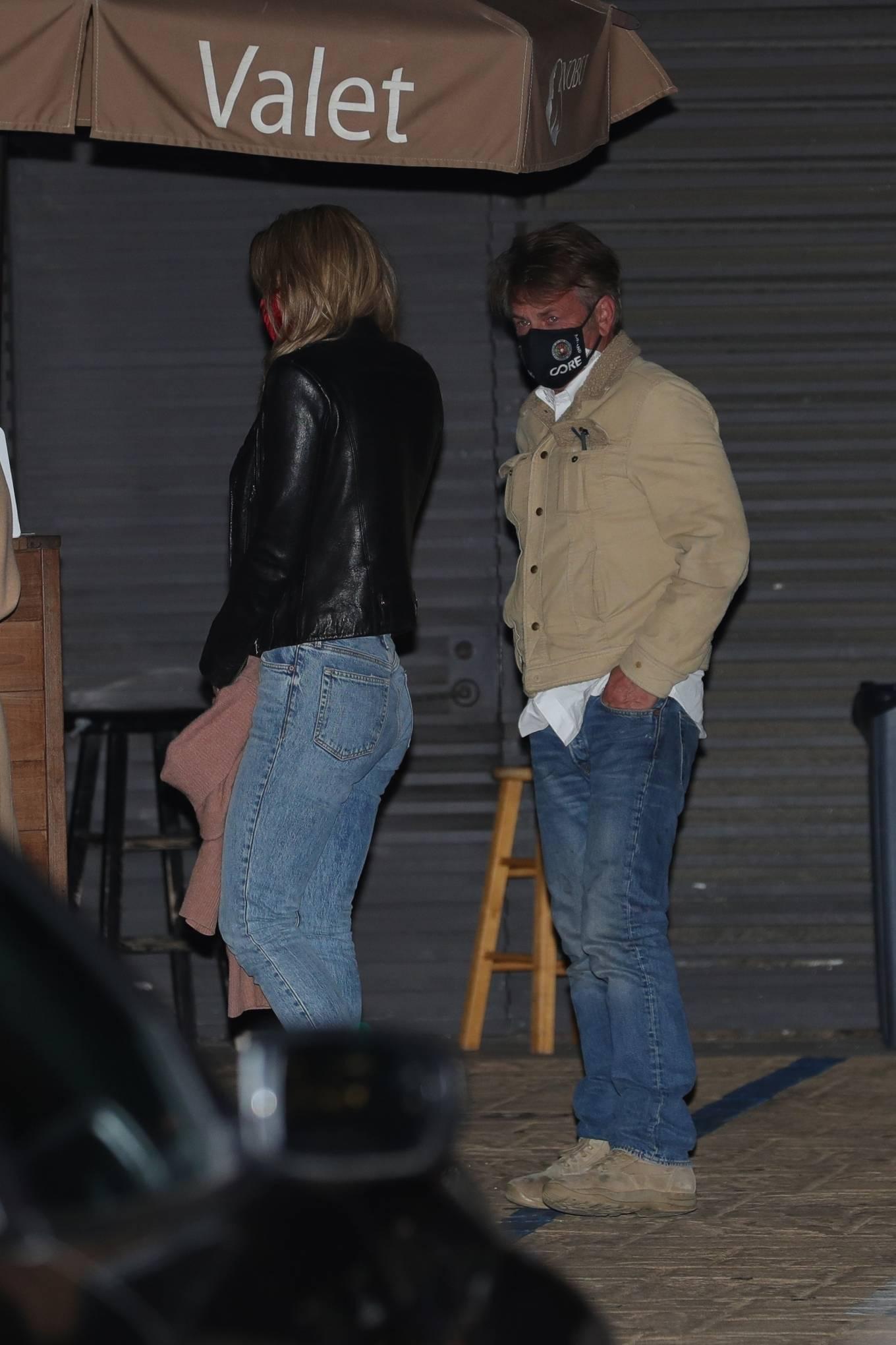 Leila George 2021 : Leila George – In denim seen after dinner date at Nobu in Malibu-05