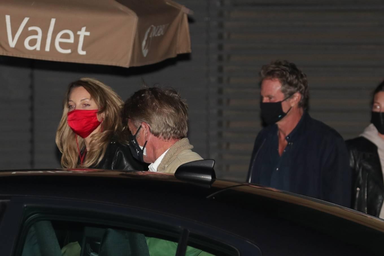 Leila George 2021 : Leila George – In denim seen after dinner date at Nobu in Malibu-08