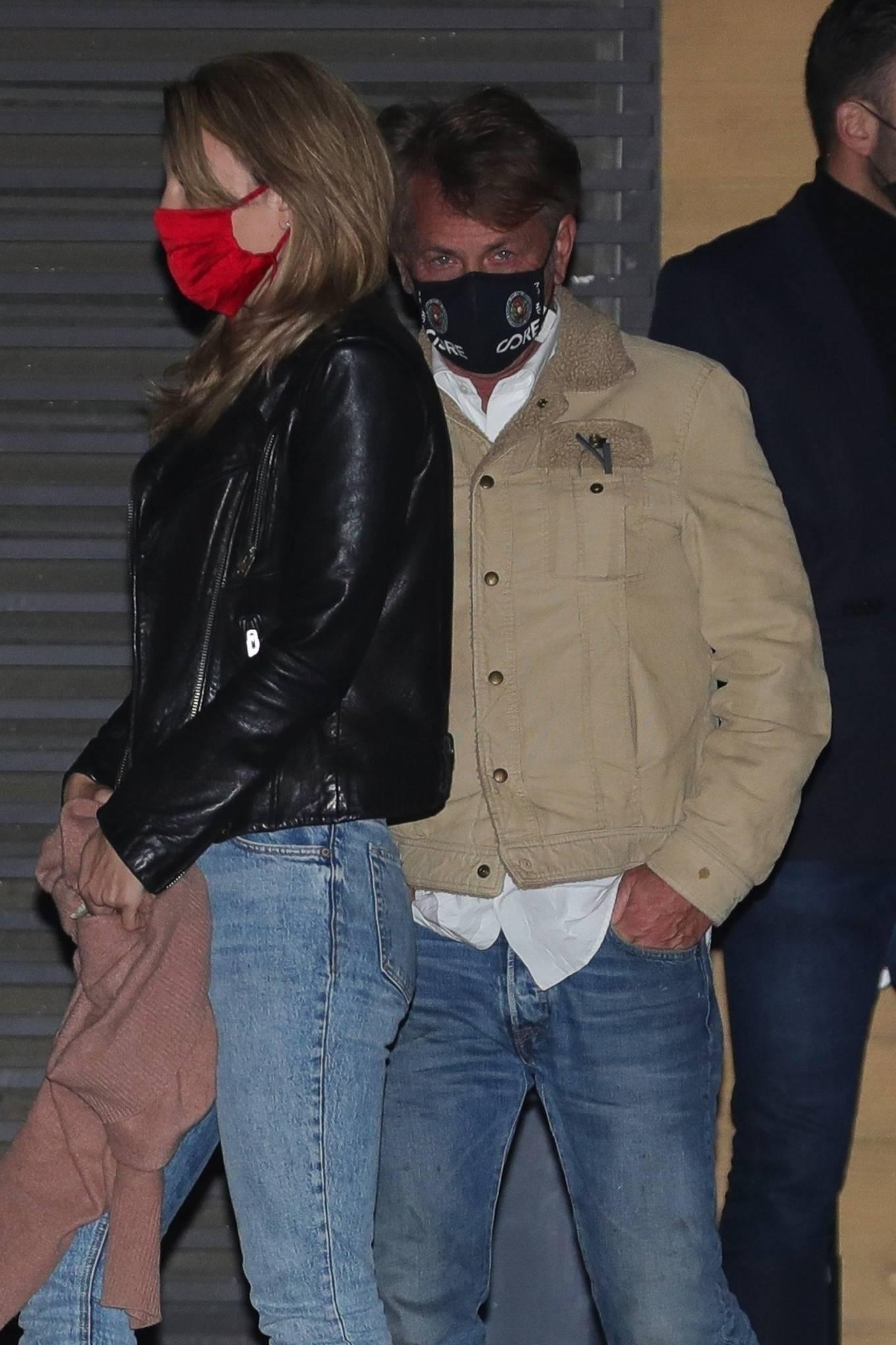 Leila George 2021 : Leila George – In denim seen after dinner date at Nobu in Malibu-12