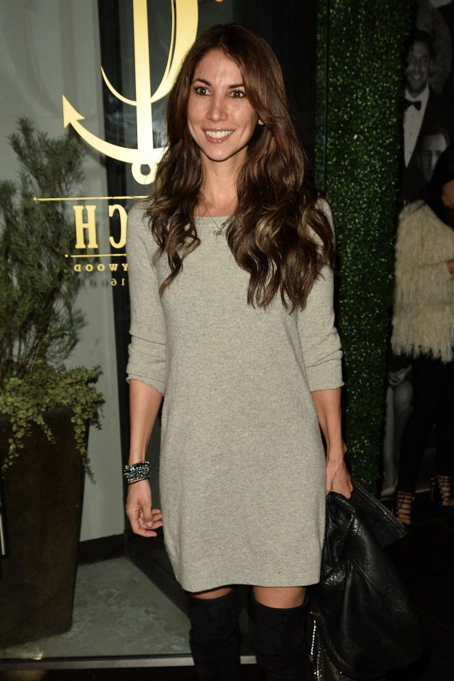 Leilani Dowding at Catch LA in West Hollywod
