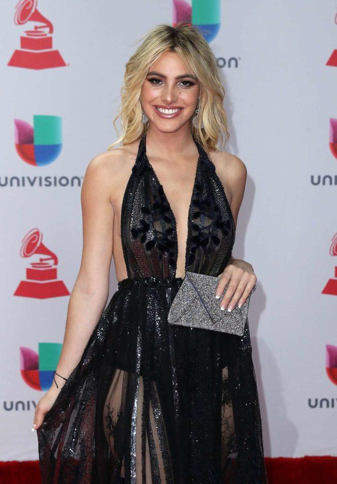 LeLe Pons - 2017 Latin Grammy Awards in Las Vegas
