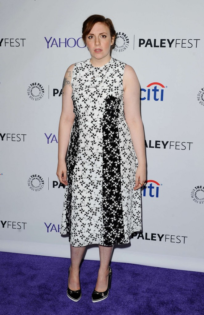 Lena Dunham - 2015 PaleyFest in Hollywood