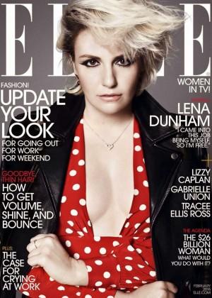 Lena Dunham - Elle USA 2015 -07