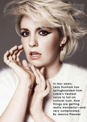 Lena Dunham - Elle USA Magazine (February 2015)