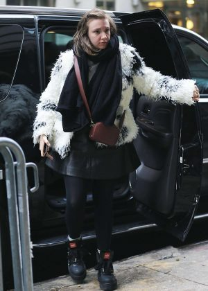 Lena Dunham is out and about in New York City