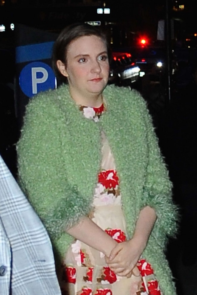 Lena Dunham out in NYC -14