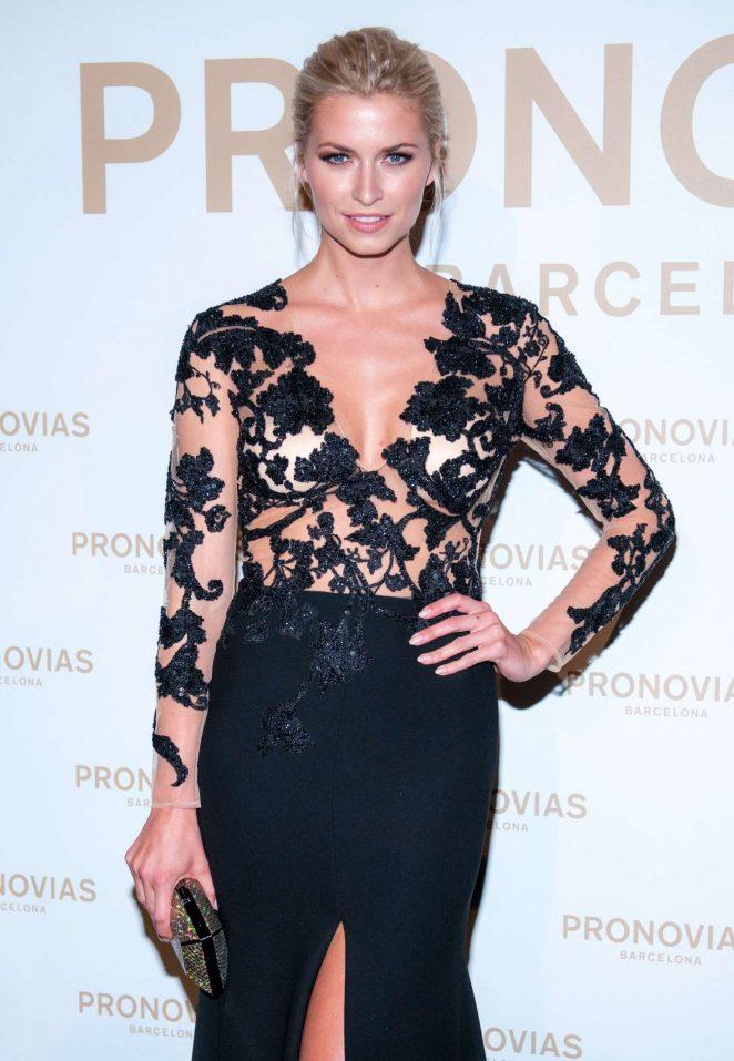 Lena Gercke - 2017 Pronovias Fashion Show in Barcelona