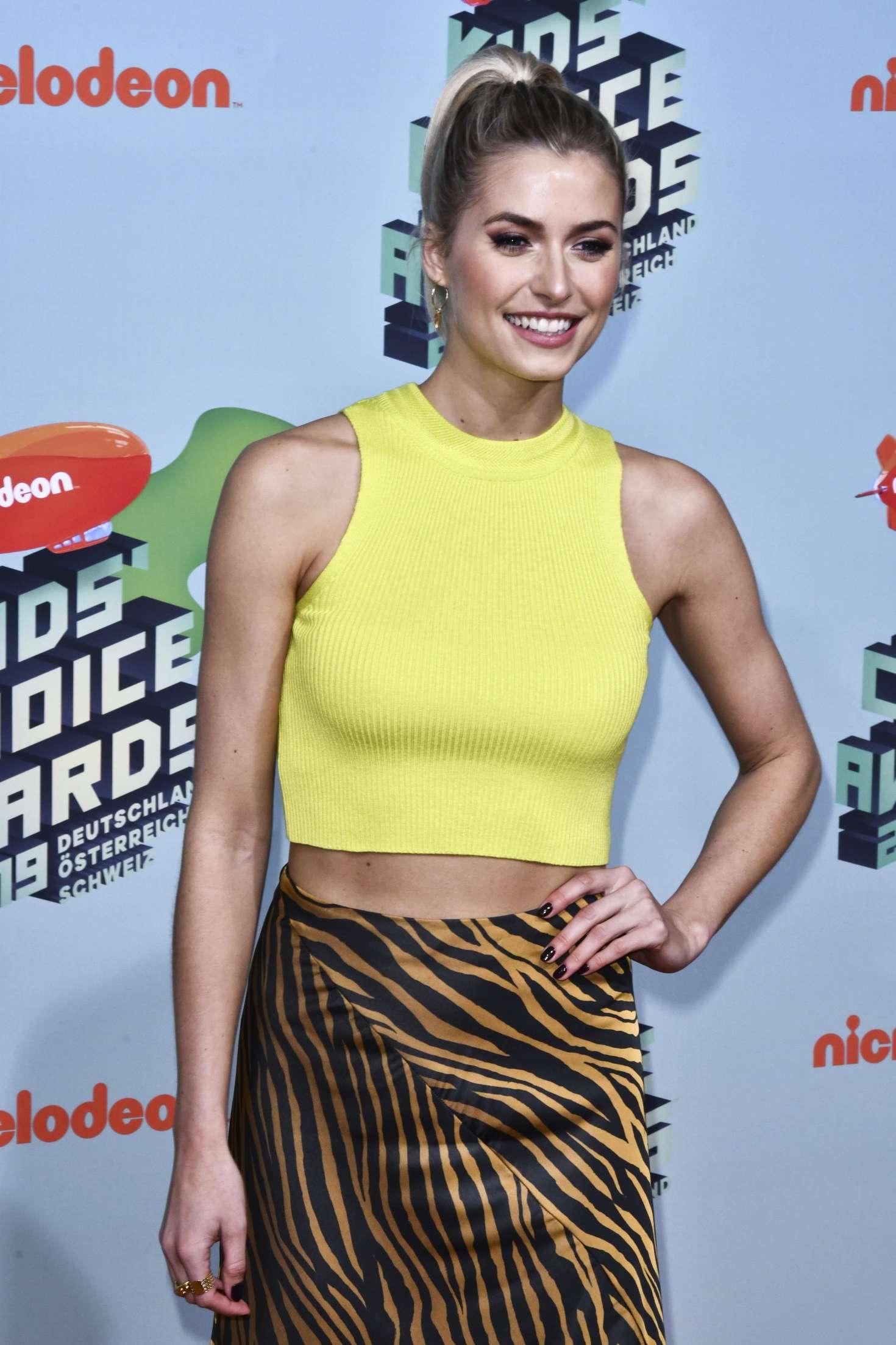 Lena Gercke - 2019 Nickelodeon Kids' Choice Awards in Rust