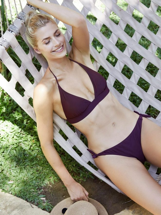 Lena Gercke - 'About You' Swimwear 2018 Collection