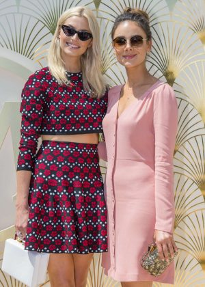 Lena Gercke and Janina Uhse - Magnum x Alexander Wang Pressekonferenz at 2018 Cannes