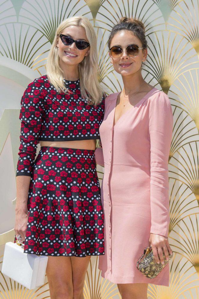 Lena Gercke and Janina Uhse - Magnum x Alexander Wang Pressekonferenz at 2018 Cannes