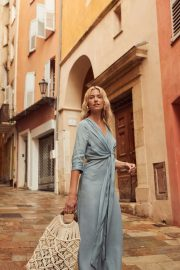 Lena Gercke - LeGer 'Cote D'Azur Collection' 2019 Promo Shoot