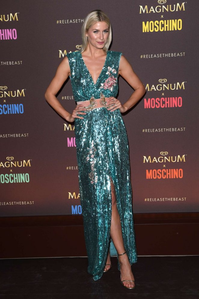 Lena Gercke - Magnum x Moschino Party at 70th Cannes Film Festival