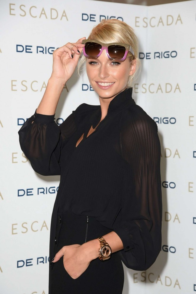 Lena Gercke - Posing for Sunglasses from Escada in Munich