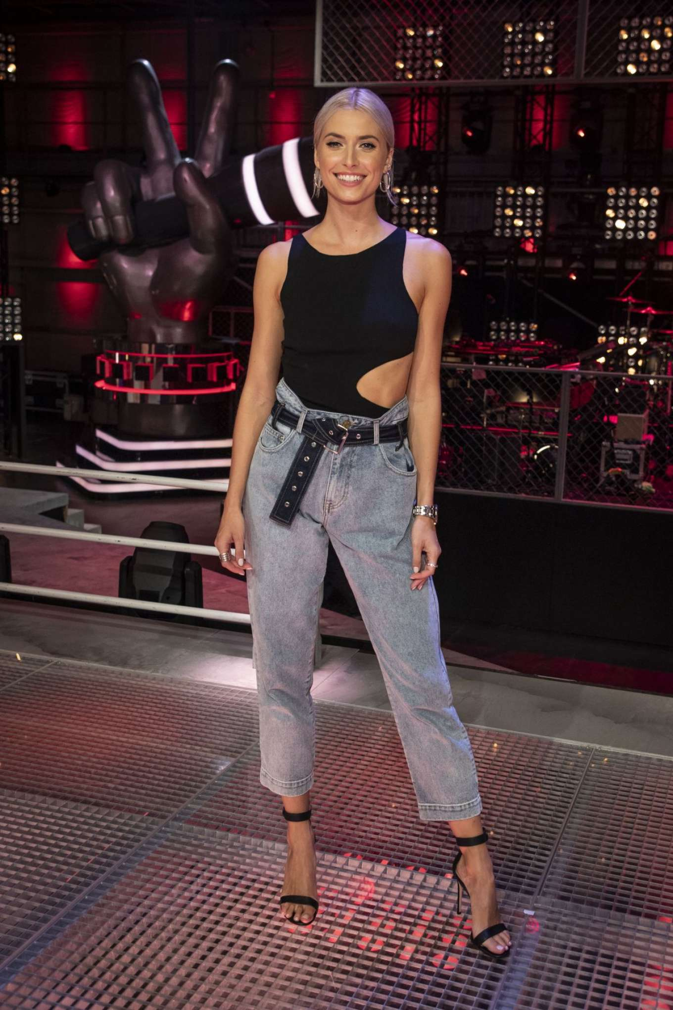 Lena Gercke - The Voice of Germany Promos