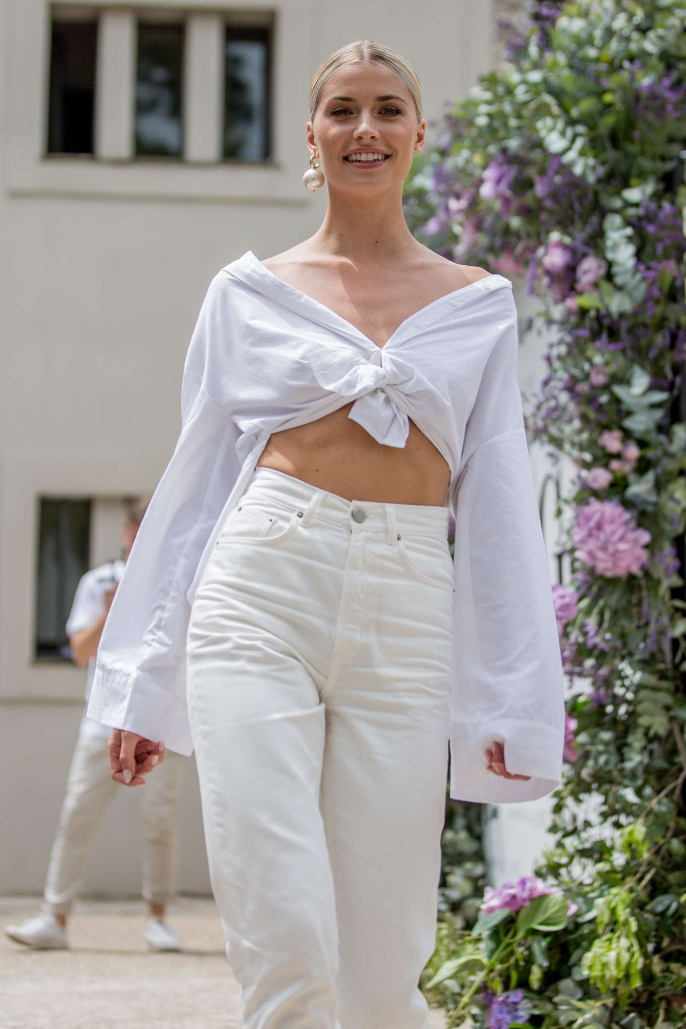 Lena Gercke - Wellbeing Summer Lunch in Cannes