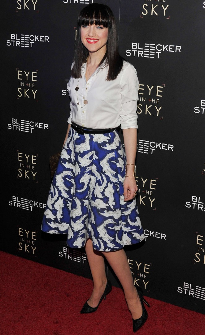Lena Hall: Eye In The Sky NY Premiere -04