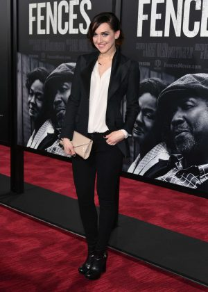 Lena Hall - 'Fences' Screening in New York