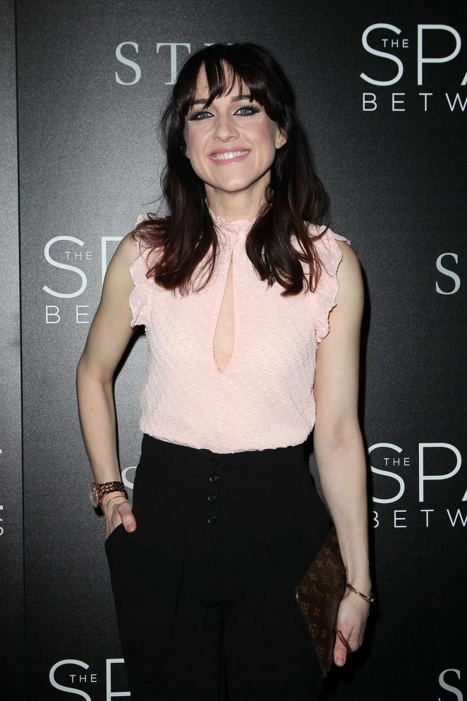 Lena Hall - 'The Space Between Us' Premiere in New York