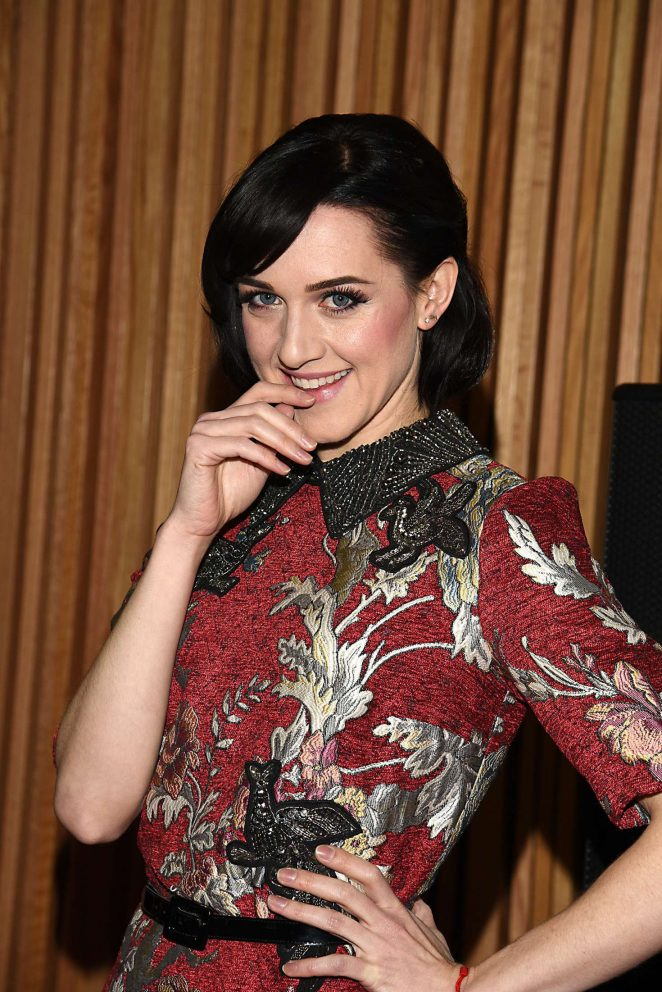 Lena Hall: Womans Day 14th Annual Red Dress Awards -01