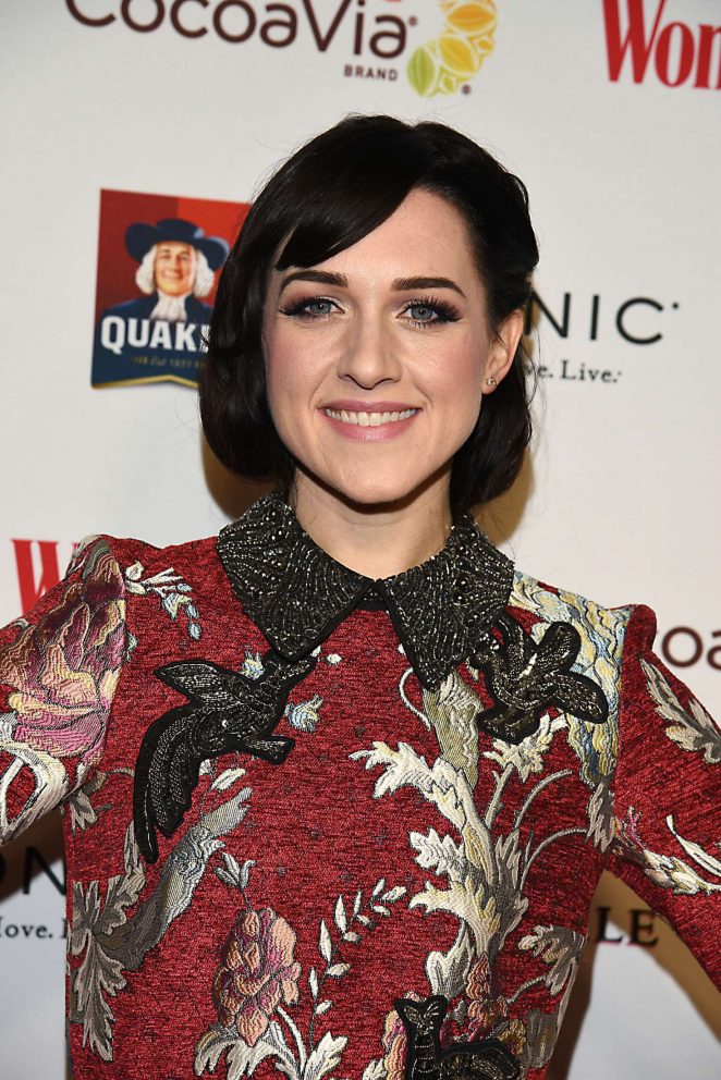 Lena Hall: Womans Day 14th Annual Red Dress Awards -09