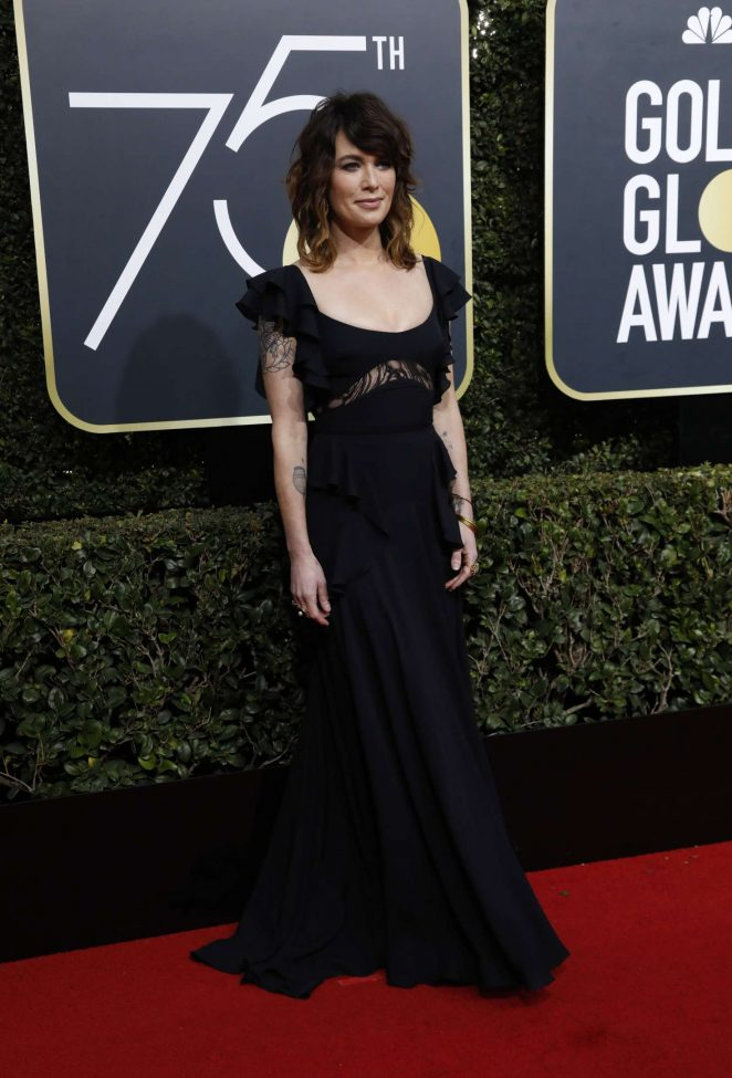 Lena Headey – 2018 Golden Globe Awards in Beverly Hills