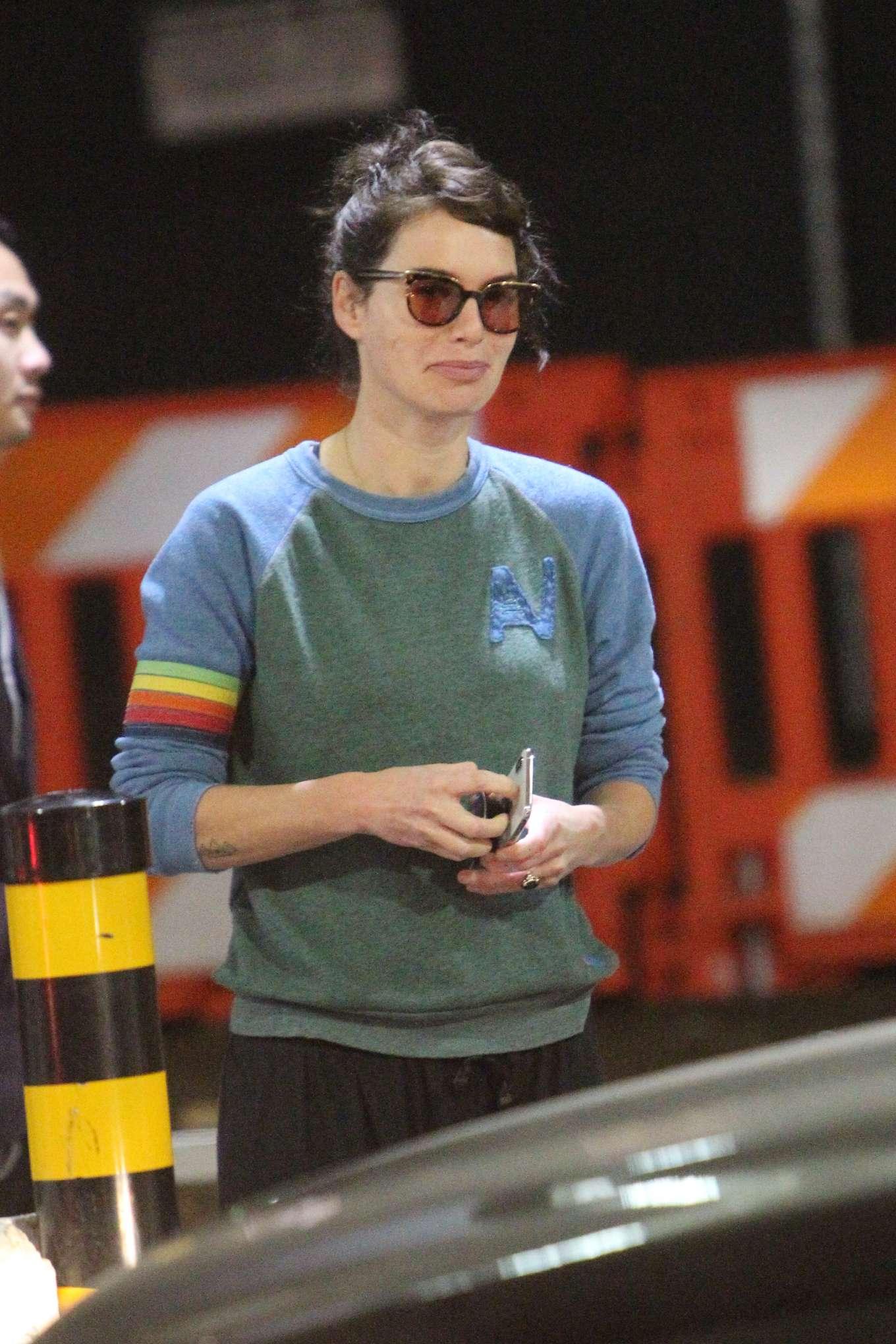 Lena Headey - Arriving at LAX airport in LA