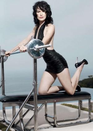 Lena Headey - Best Life Magazine (December 2007)