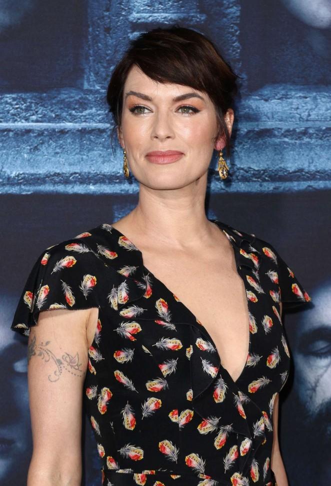 Lena Headey - 'Game of Thrones' Season 6 Premiere in Hollywood