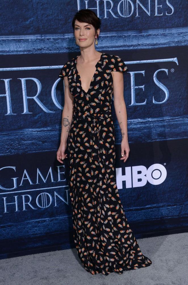 Lena Headey: Game of Thrones Season 6 Premiere -02