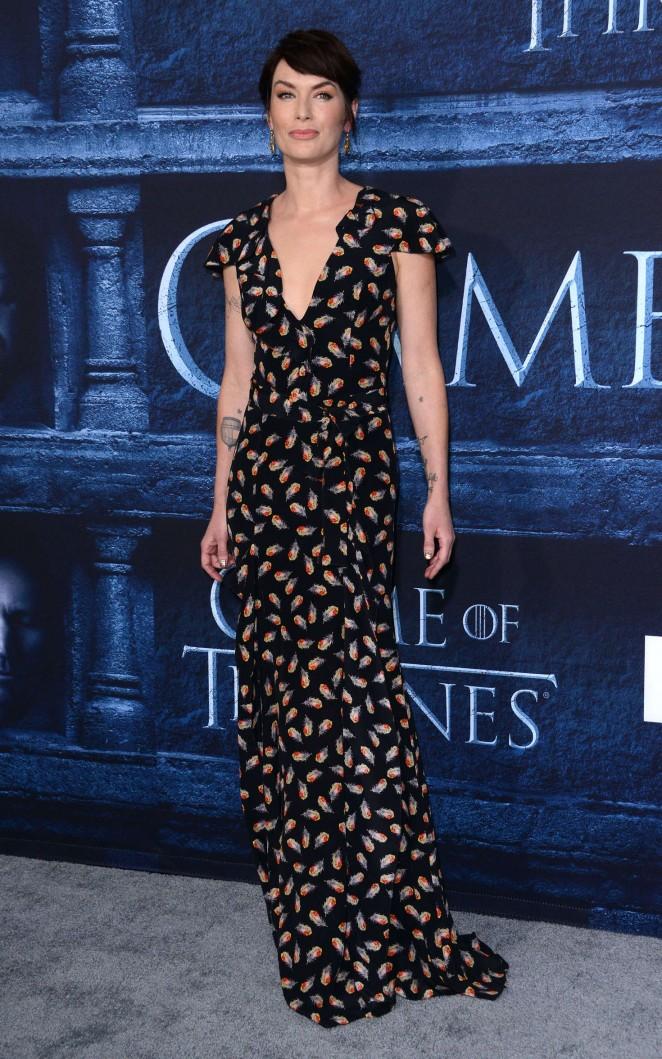 Lena Headey: Game of Thrones Season 6 Premiere -03