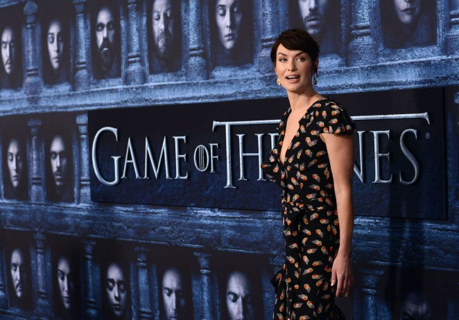 Lena Headey: Game of Thrones Season 6 Premiere -18