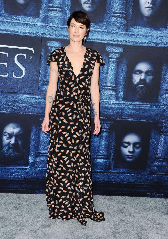 Lena Headey: Game of Thrones Season 6 Premiere -21