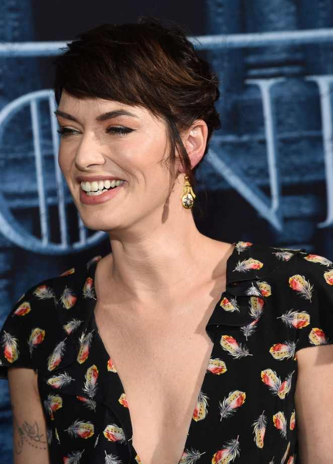 Lena Headey: Game of Thrones Season 6 Premiere -23