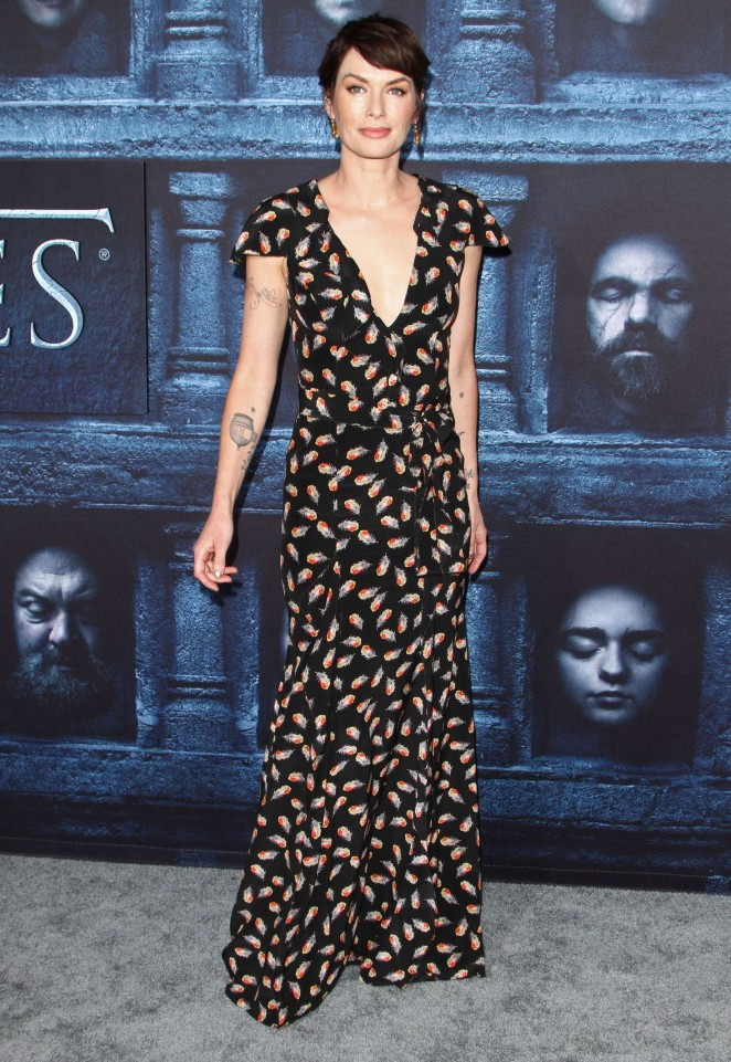 Lena Headey: Game of Thrones Season 6 Premiere -28