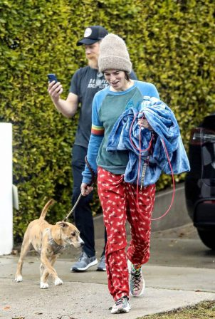 Lena Headey - Leaving a gym in West Hollywood