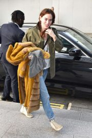 Lena Headey - Out and about in London