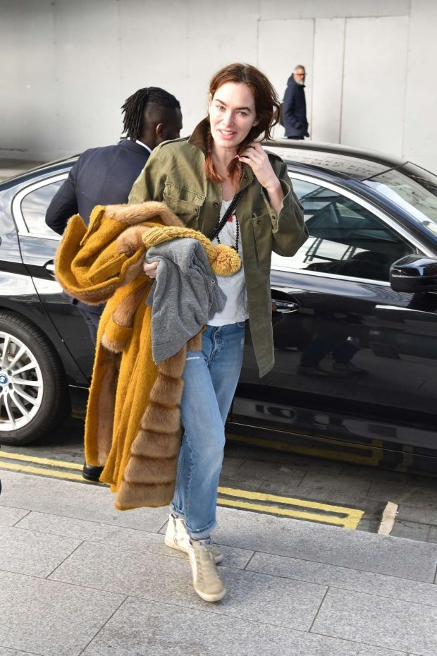 Lena Headey: Out and about in London -04
