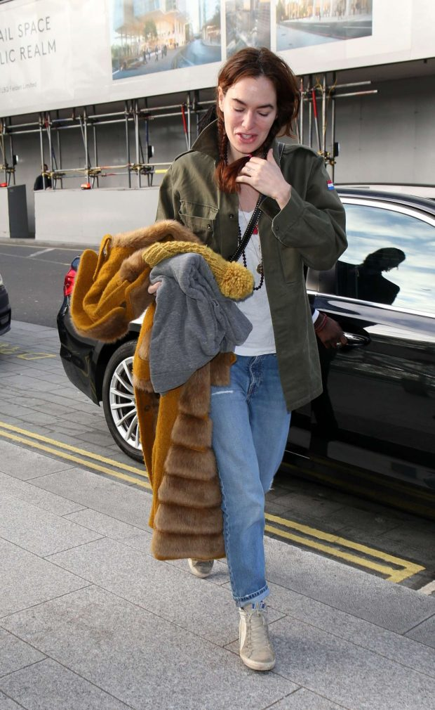 Lena Headey: Out and about in London -08