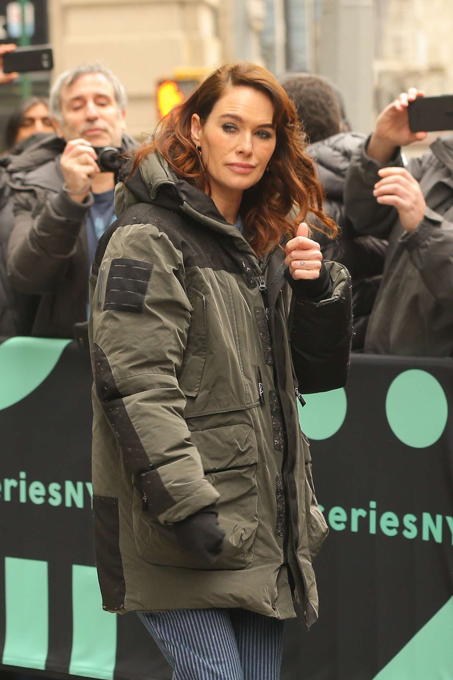 Lena Headey - Out in New York