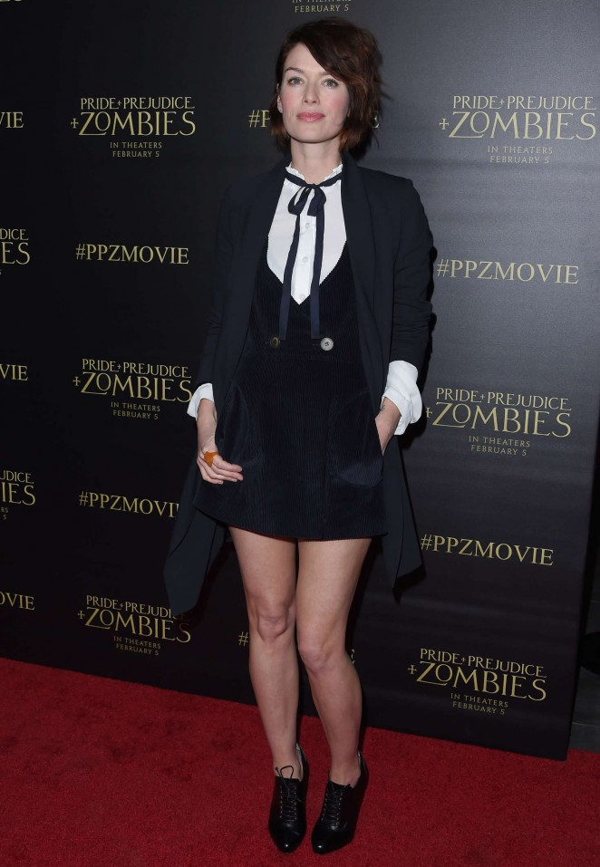Lena Headey - Pride and Prejudice and Zombies' Premiere in Los Angeles