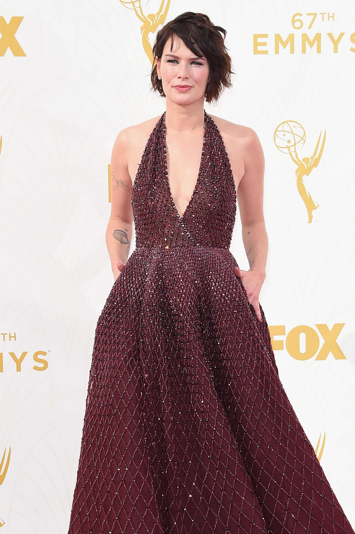 Lena Headey - 2015 Emmy Awards in LA