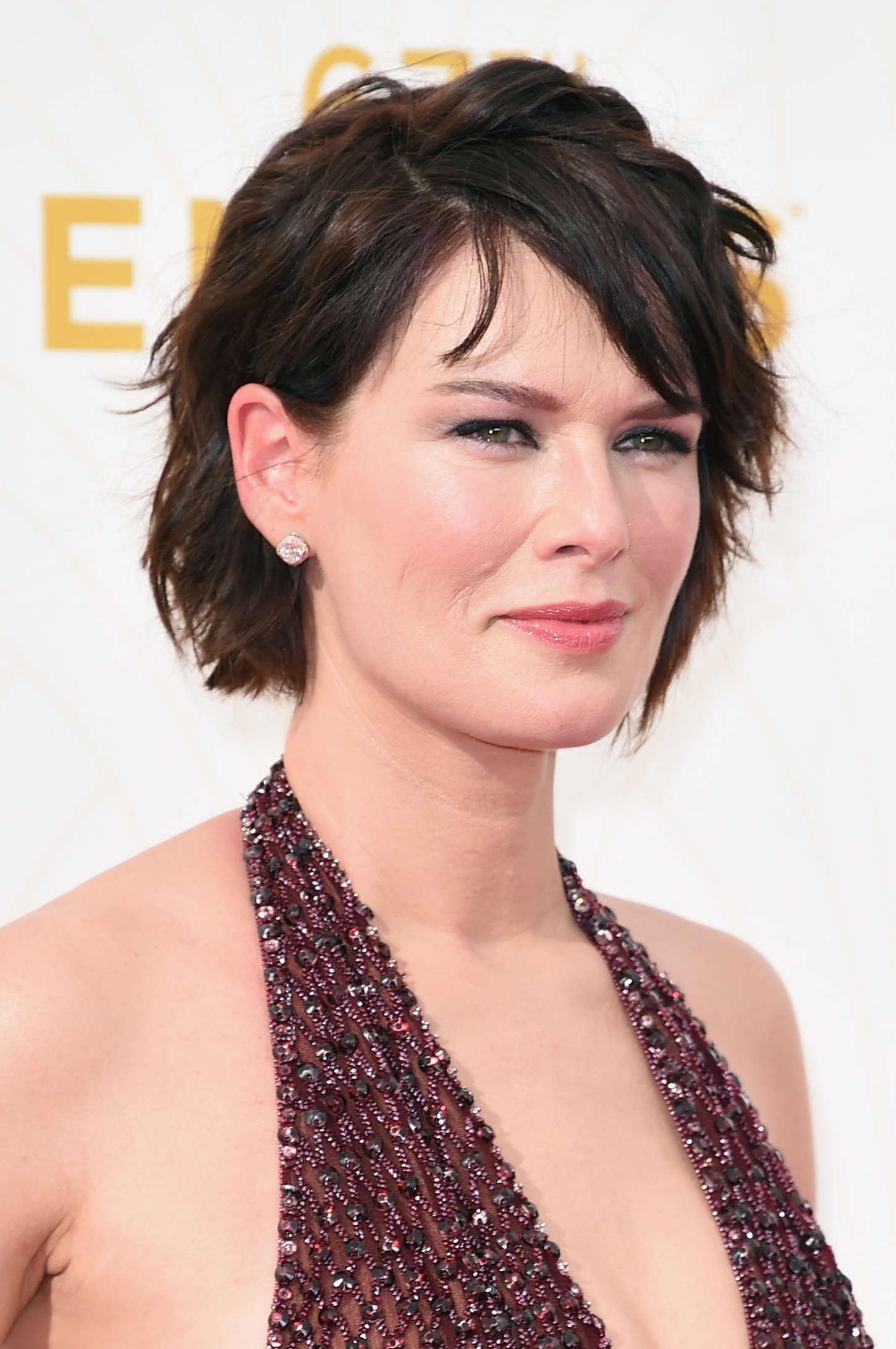 Lena Headey 2015 : Lena Headey: 2015 Emmy Awards -05
