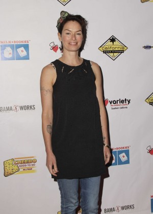 Lena Headey - The 7th Annual Milk + Bookies Story Time Celebration in LA