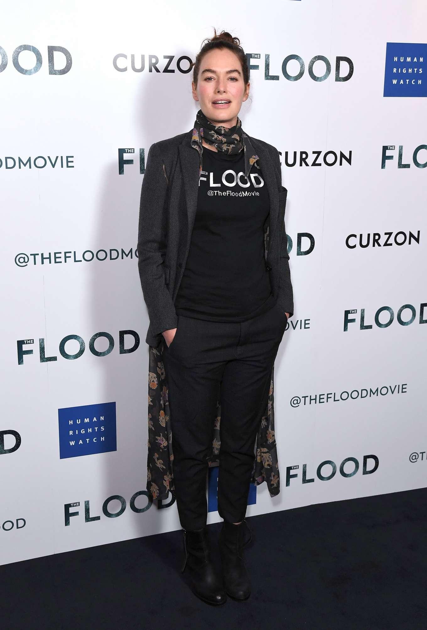 Lena Headey 2019 : Lena Headey: The Flood Screening in London-01