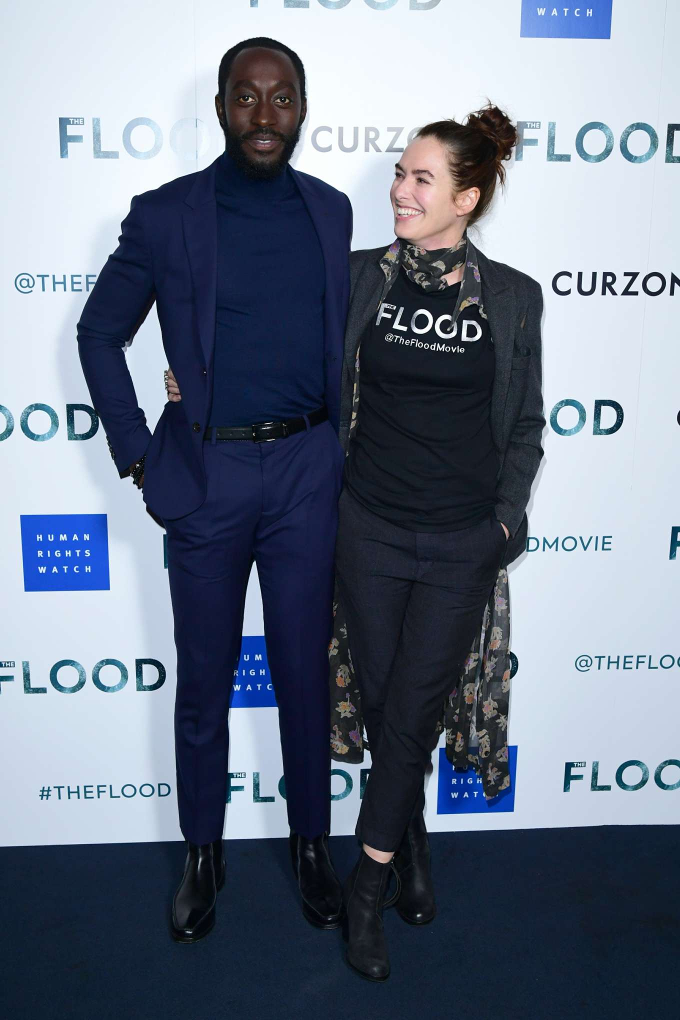 Lena Headey 2019 : Lena Headey: The Flood Screening in London-03