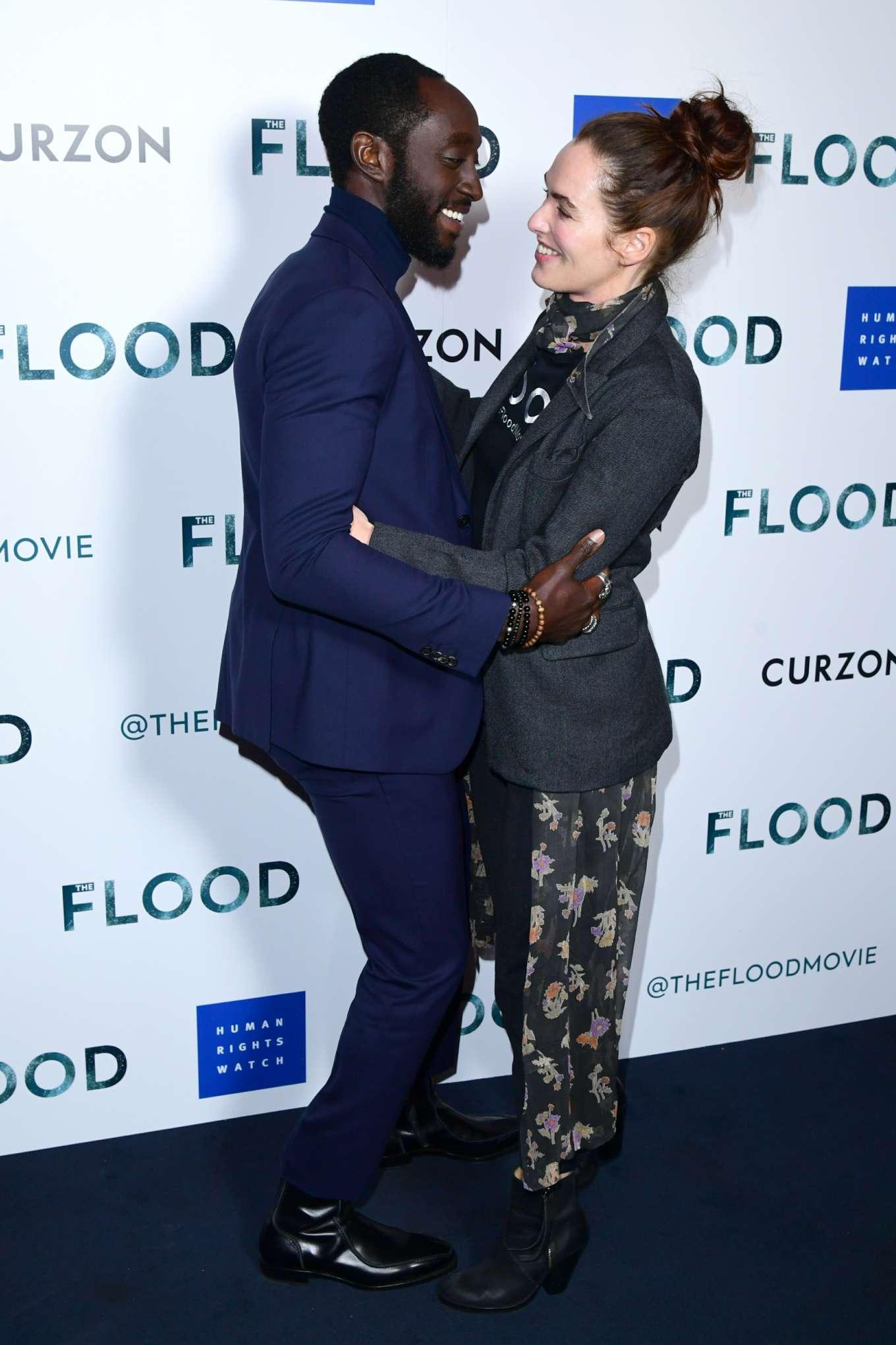 Lena Headey 2019 : Lena Headey: The Flood Screening in London-04