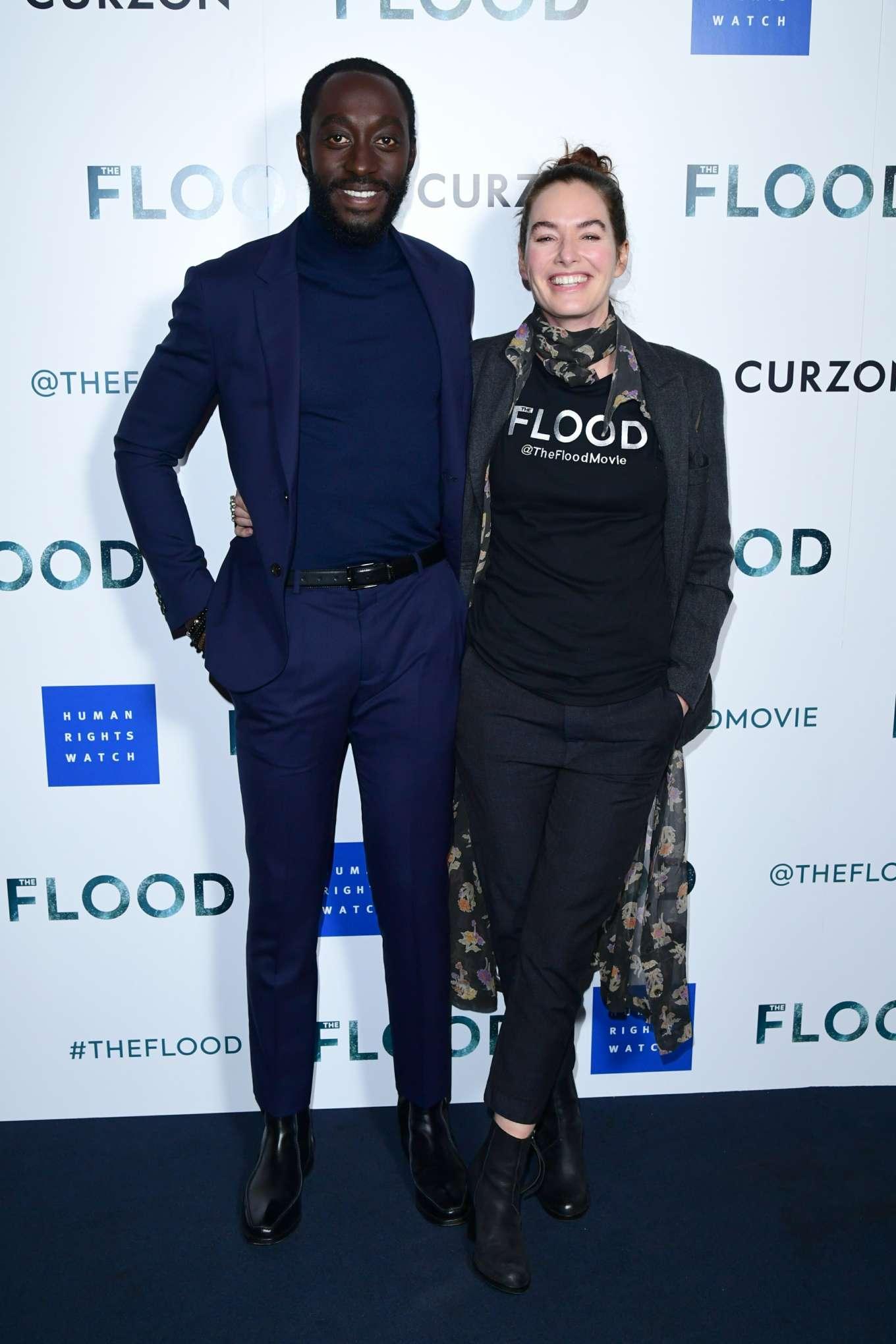 Lena Headey 2019 : Lena Headey: The Flood Screening in London-08