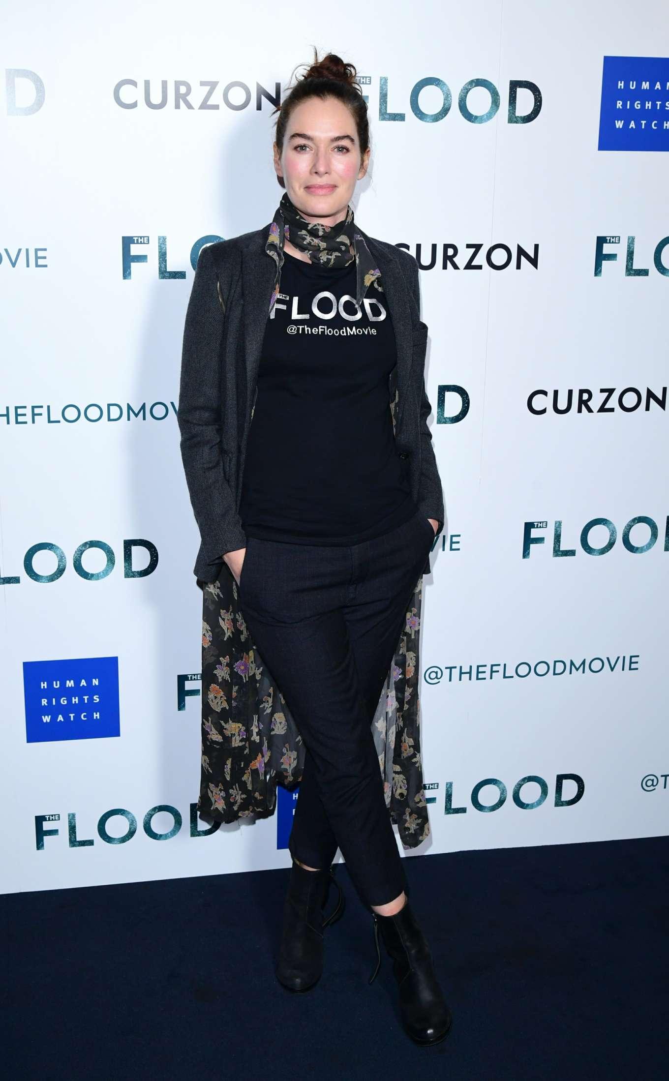 Lena Headey 2019 : Lena Headey: The Flood Screening in London-12